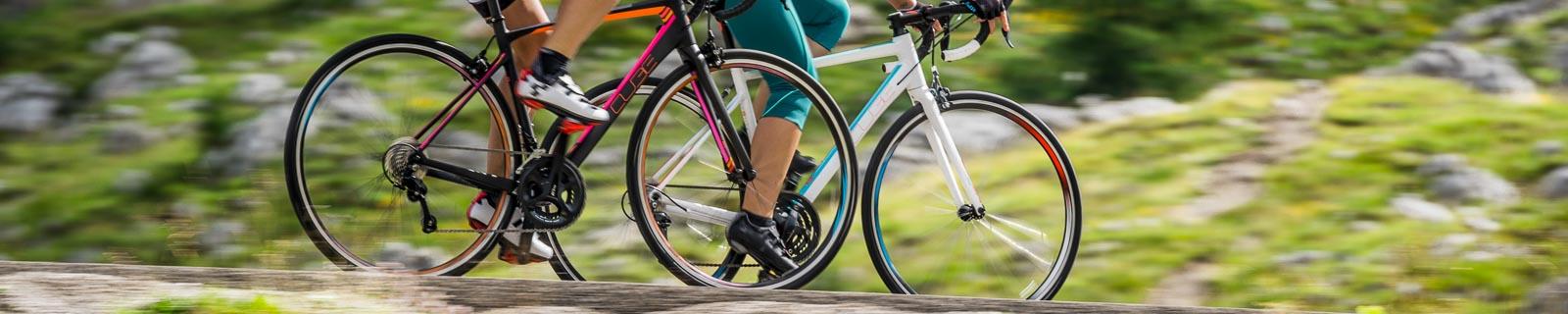 Bicilette da corsa femminili in carbonio e aluminio