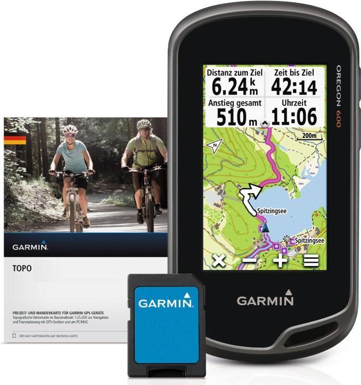 Garmin Oregon® 600 + Topo Germany V6 PRO Bundle microSD