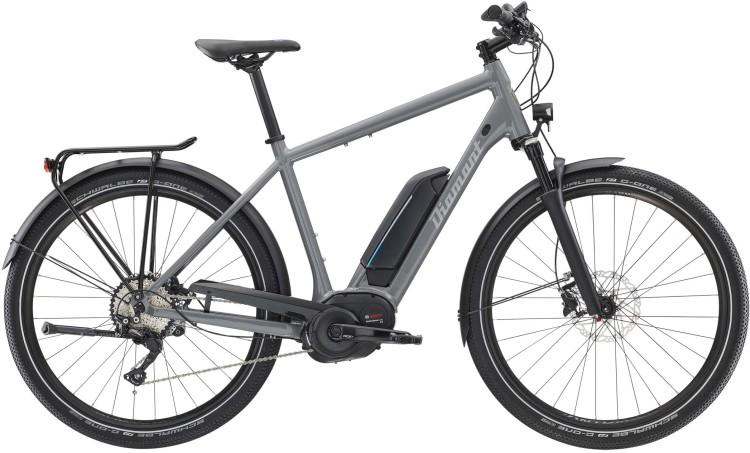 Diamant Elan Legere+ HER Graphitgrau 2020 - E-Bike da Trekking per Uomini