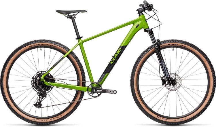 Cube Analog deepgreen n black RockShoxs 2021 - Hardtail Mountainbike
