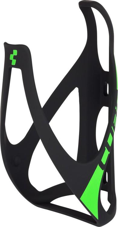 Cube Flaschenhalter HPP matt black n green