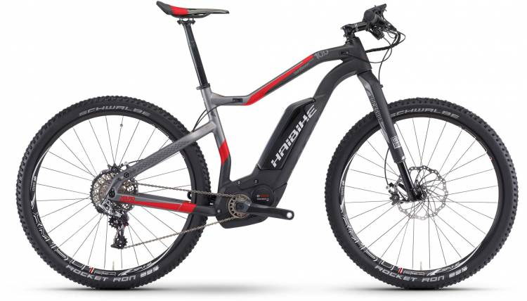 Haibike XDURO HardSeven Carb. 10.0 500Wh carbon/anthr./rot matt 2017