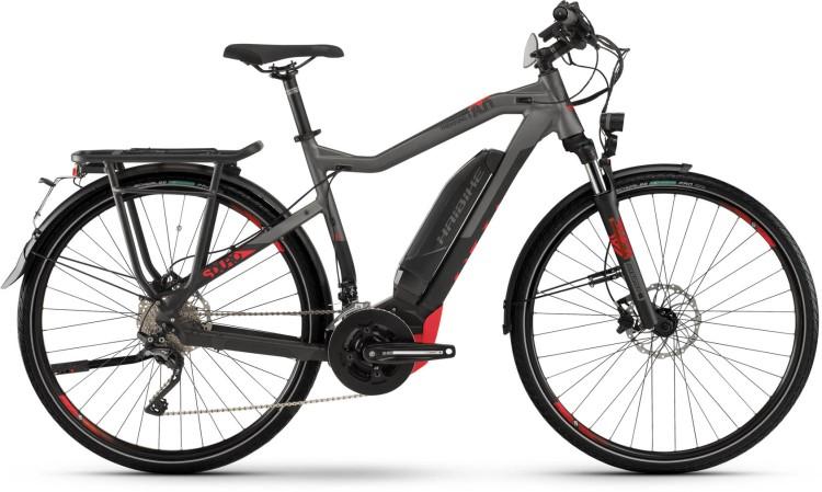 Haibike SDURO Trekking S 8.0 500Wh black/titan/red dull - Uomo 2020