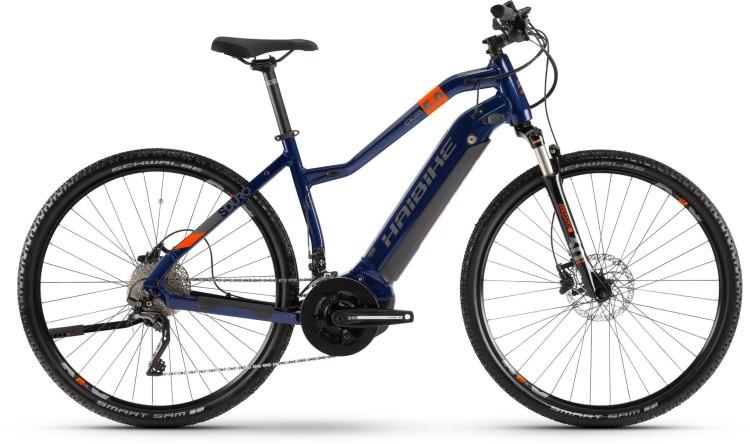 Haibike SDURO Cross 5.0 500Wh Blau/Orange/Titan 2020