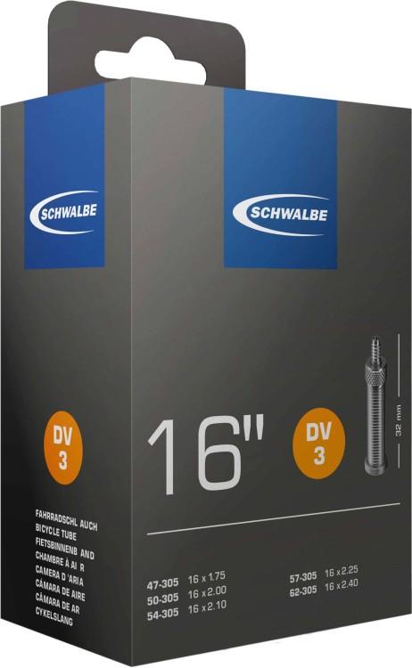 Camera d'aria Schwalbe 16 x 1,75-2,50 S DV3 32 mm