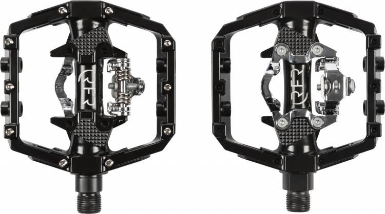 Cube RFR Pedale Flat mit Klick-System schwarz