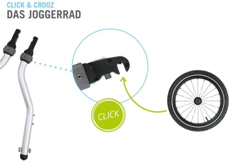 CroozerKid for 1 Click & Crooz Fahrradanhänger