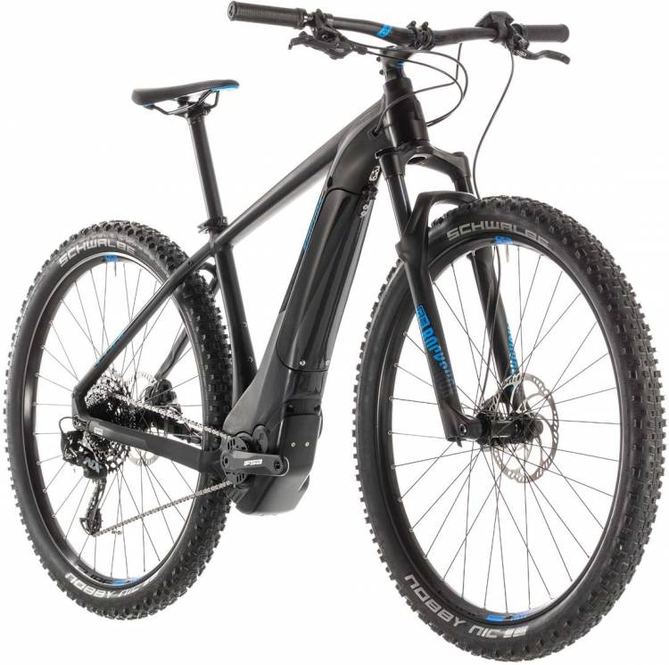 Cube Reaction Hybrid EAGLE 500 black n blue 2019
